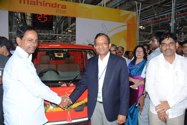 Mahindra Inaugurates Extended Manufacturing Facility At Zaheerabad In Telangana