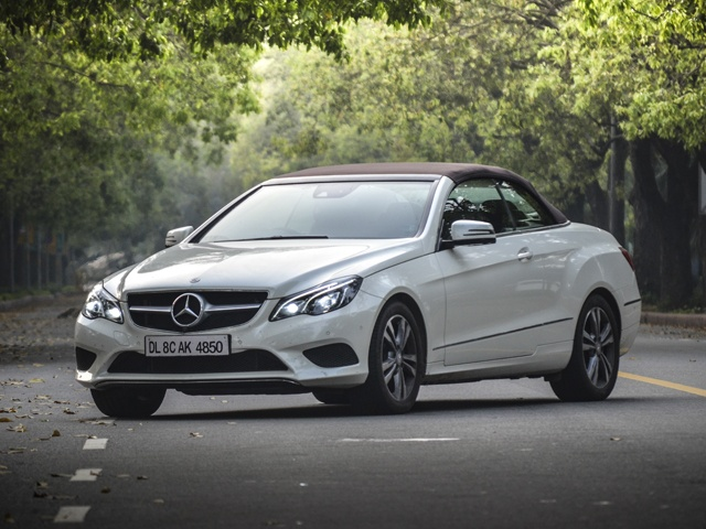 Mercedes-Benz E400 Cabriolet In India Review
