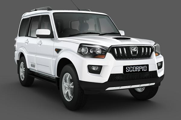 New Mahindra Scorpio Gets Fresh Tailgate Styling
