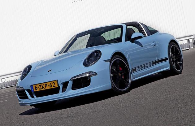 Porsche 911 Targa 4S Exclusive Edition Unveiled