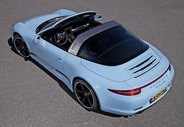 Porsche 911 Targa 4S Exclusive Edition Unveiled At AutoRAI 2015