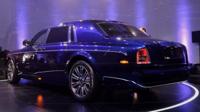 Rolls Royce Phantom Limelight Collection Unveiled At Shanghai Auto Show