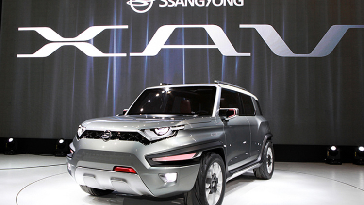 SsangYong XAV Concept Showcased At Seoul Motor Show