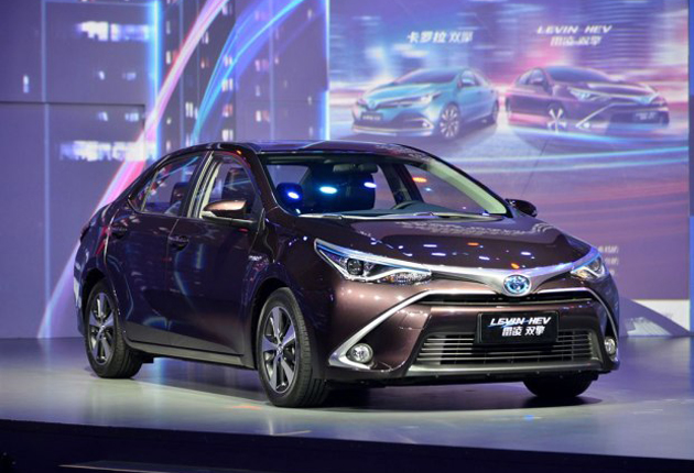 Toyota Corolla Hybrid Unveiled At Shanghai Motor Show