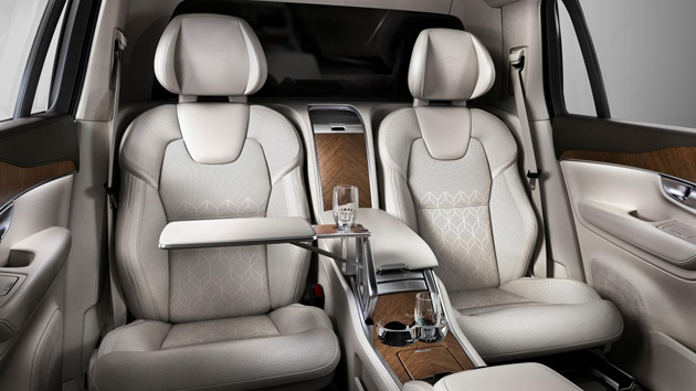 Volvo XC90 Excellence Edition Unveiled At Shanghai Auto Show