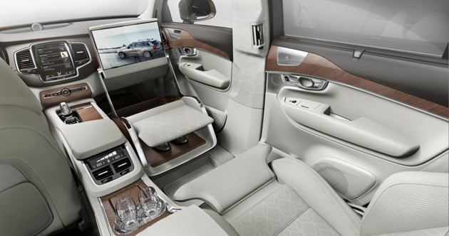 Volvo XC90 Lounge Console Debuts In Shanghai
