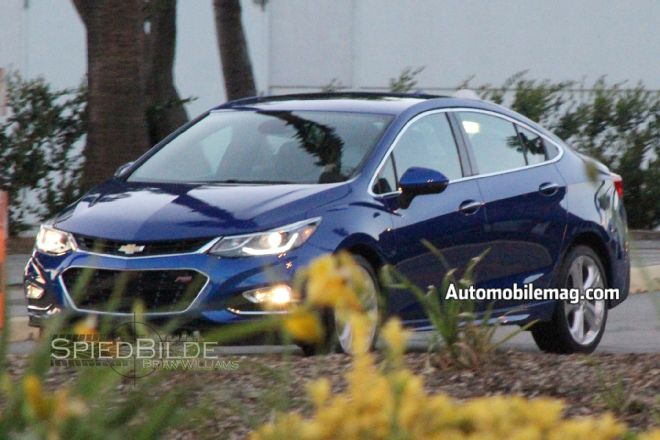 2016 Chevrolet Cruze Spotted Clearly