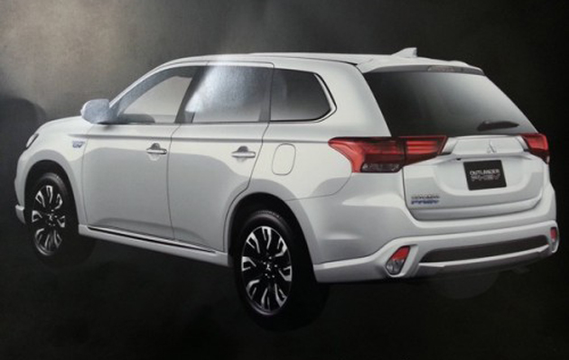 2016 Mitsubishi Outlander Brochure Leaked (India-Bound)