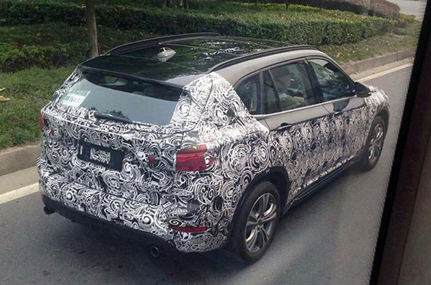2016 Next-Gen BMW X1 Spotted Testing In China
