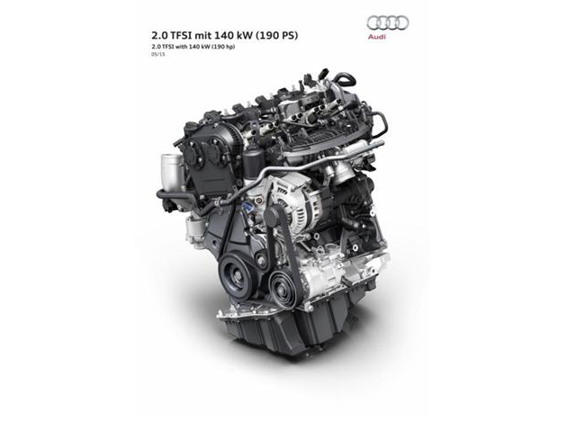 Audi New 2.0L TFSI Engine Unveiled