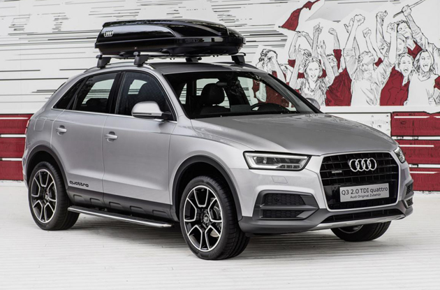 Audi Q3 Off-Road Style Package Unveiled At Worthersee