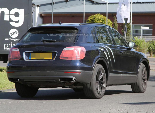 Bentley Bentayga SUV Spotted Almost Undisguised