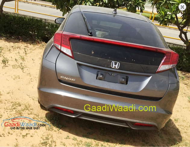 Euro-Spec Honda Civic Spotted In India