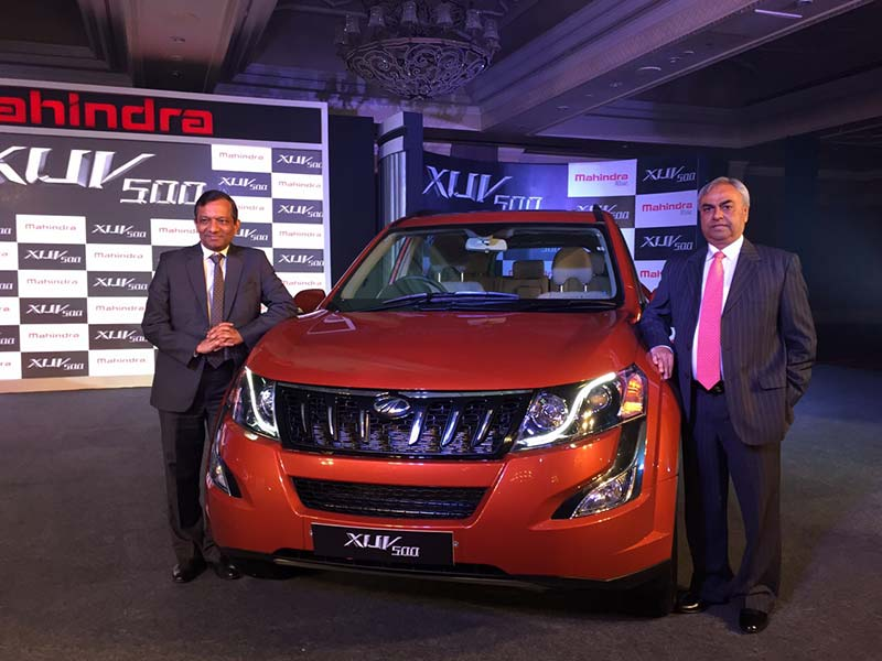 Mahindra XUV500 Facelift Launched For Rs 11.21 Lakh
