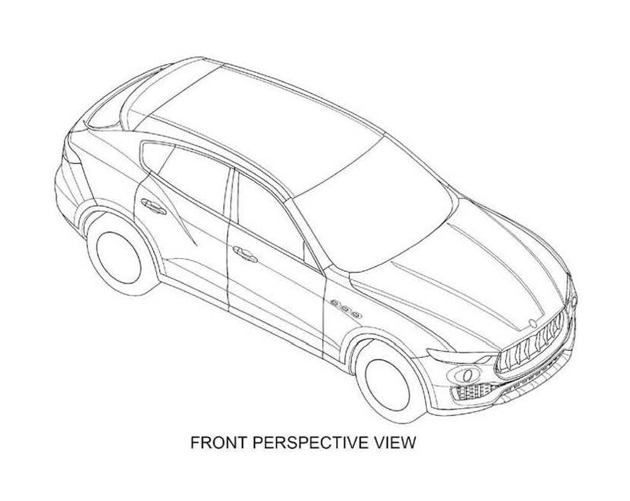 Maserati Levante Revealed In Patent Images