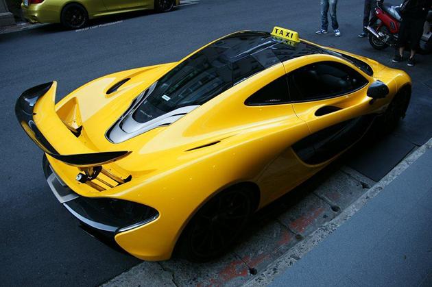 McLaren P1 Converted Into A Taxi?