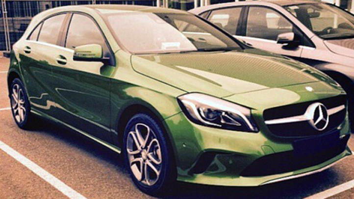 Mercedes-Benz A-Class Facelift Spotted Clearly