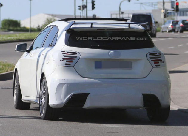 Mercedes-Benz A45 AMG Facelift Spotted In Germany