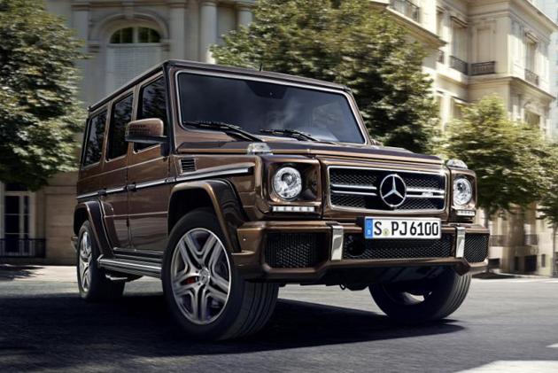 Mercedes-Benz G-Class Facelift Revealed