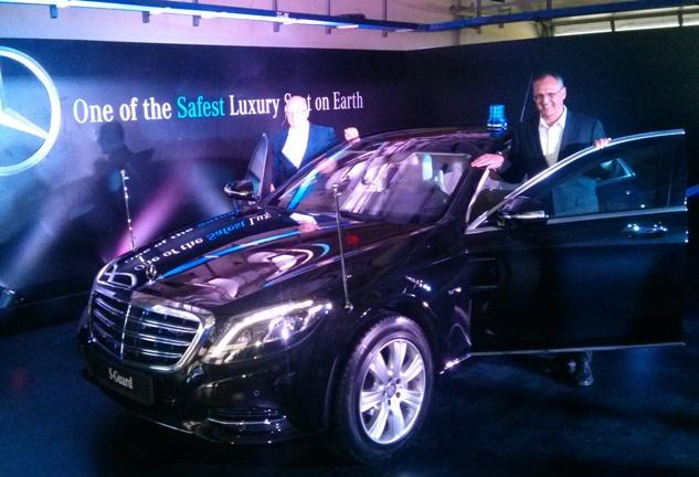 Mercedes-Benz S 600 Guard Launched In India