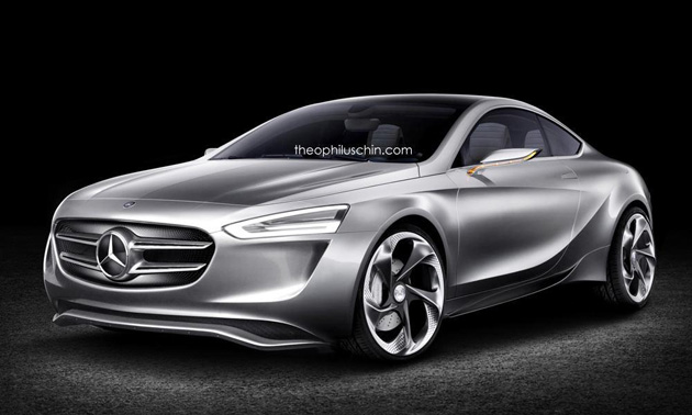 Mercedes-Benz's Rival Of Audi TT Rendered