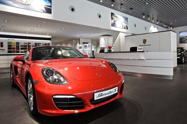 Porsche New Outlet In Kolkata