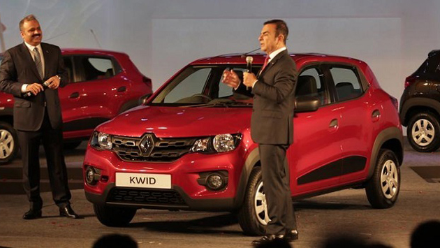 Renault Kwid Unveiled In India