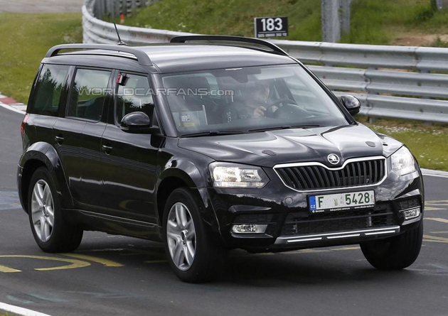 Skoda Snowman Spotted At Nurburgring
