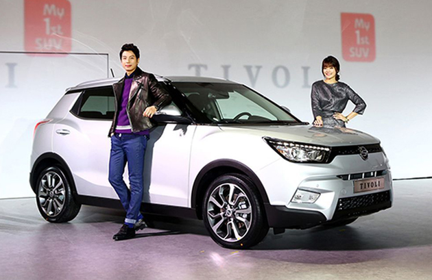SsangYong Considering Tivoli For India With New 1.5L Engine