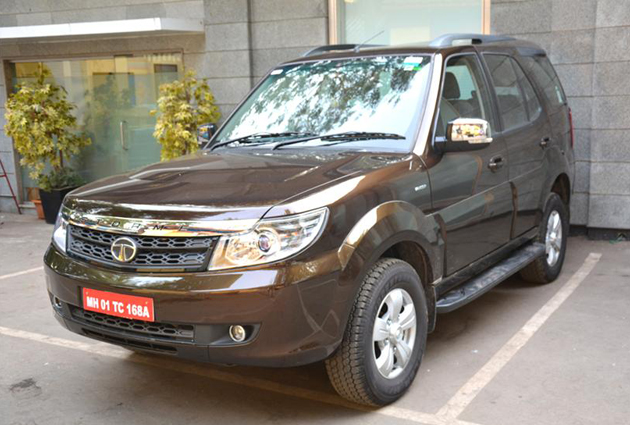 Tata Safari Storme Facelift