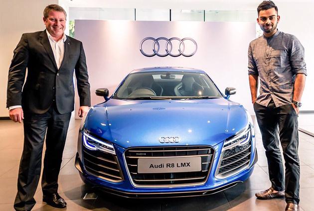 Virat Kohli Buys Audi R8 LMX