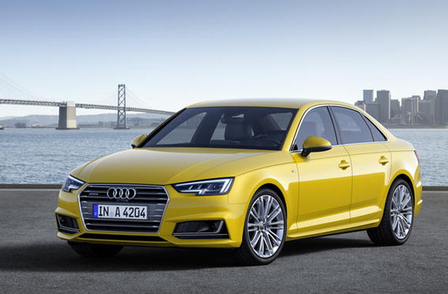 2016 Audi A4  First Pictures 2