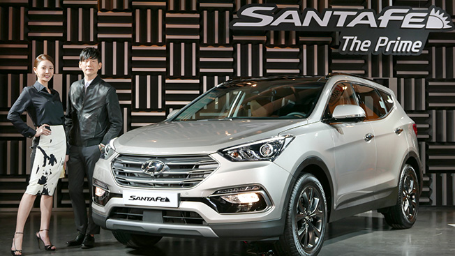 2016 Hyundai Santa Fe Facelift Launched In Korea