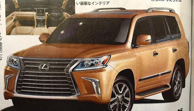 2016 Lexus LX 570 Facelift Leaked