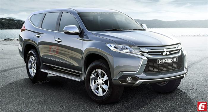 2016 Mitsubishi Pajero Sport Struts Its Rugged New Look