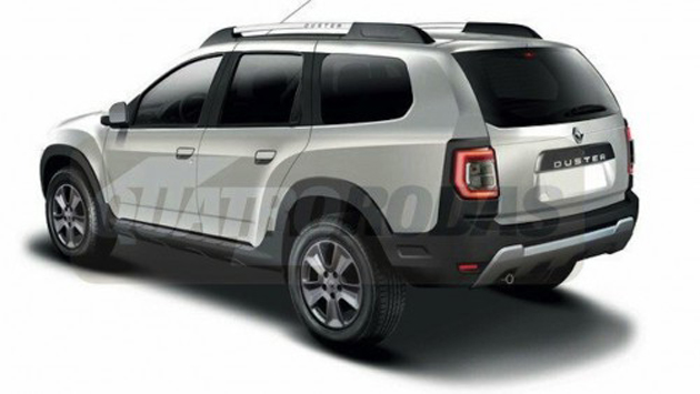 2017 Renault Duster 7-Seater SUV Rendered