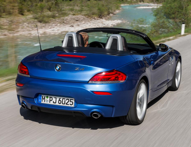 BMW Z4 Facelift In Estoril Blue Unveiled