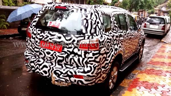 Chevrolet Trailblazer 2WD Automatic Spotted Testing In India