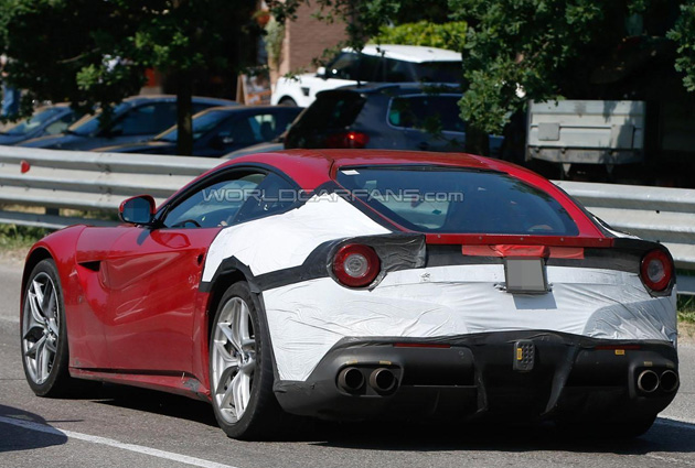 Ferrari F12 M Spotted For First Time
