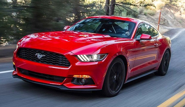 Ford Mustang Enters India For Testing Purpose