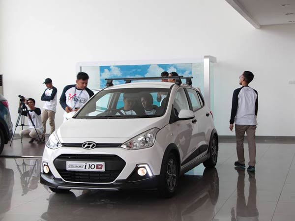 Grand i10X Launched In Indonesia