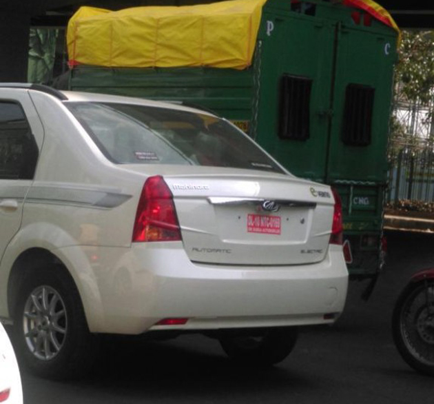 Mahindra Verito EV Spotted Ahead Of The Launch