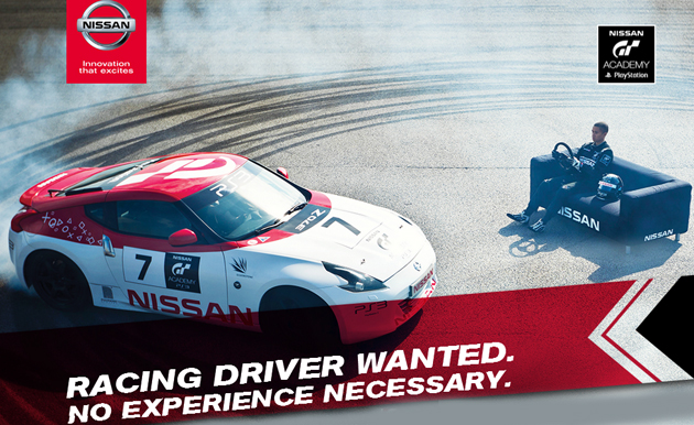 Nissan GT Academy 2015 Registrations Now Open