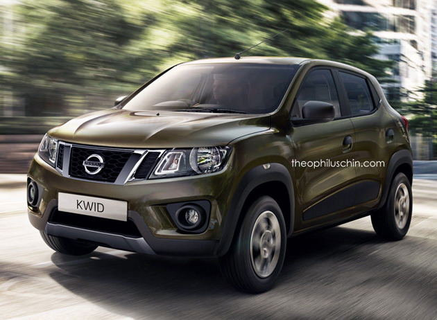 Nissan Kwid Rendered