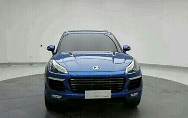 Porsche Macan Chinese Copied Version Is Called Zotye T700