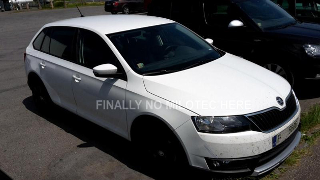 Skoda Rapid Spaceback Scout Found: Show At Frankfurt