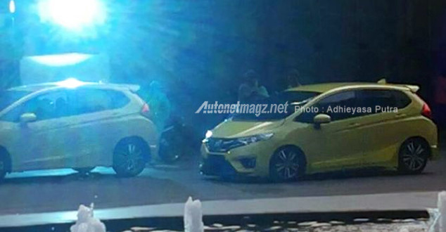 Sporty Honda Jazz With Full Bodykit Spotted In Indonesia Before Launch