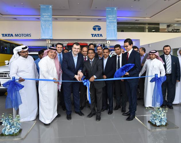 Tata Motors Opens Flagship Showroom & Service Facility In Riyadh, KSA