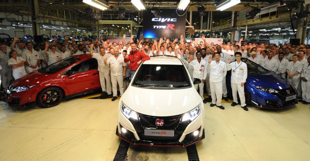 British-Built Honda Civic Type R To Be Exported To Japan