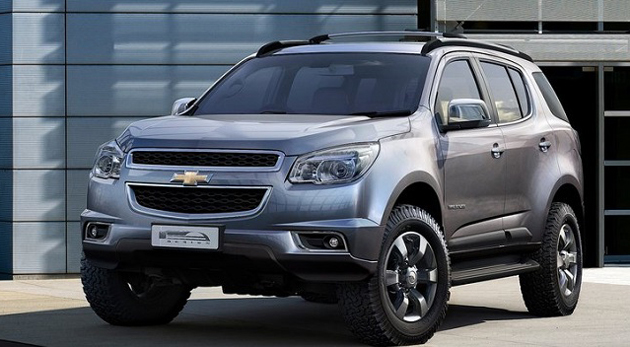 Chevrolet Trailblazer SUV and Spin MPV Unveiled in India